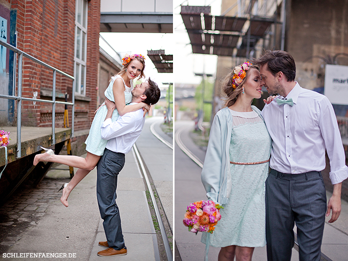 Hochzeit Baumwollspinnerei industrial