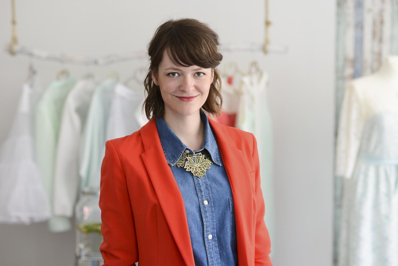 Brautmodendesignerin Laura Hertel