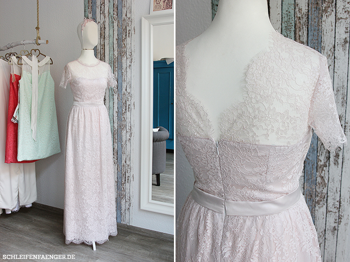 Brautkleid in rosé