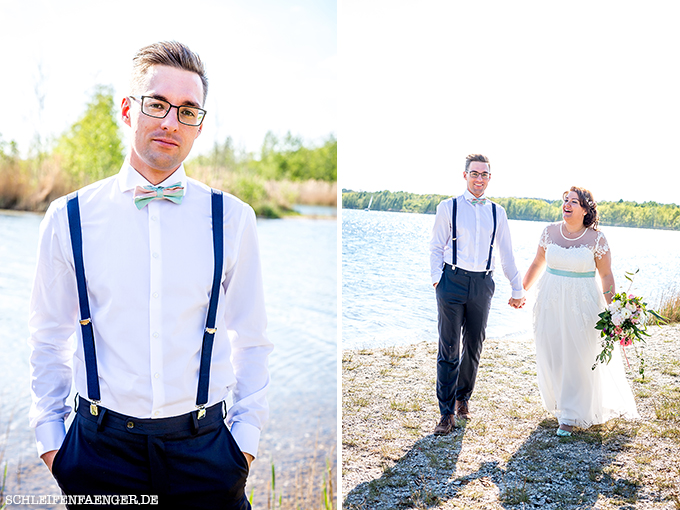 Franziska heiratet im Vintage-Spitzenkleid in der Hacienda Cospuden ...