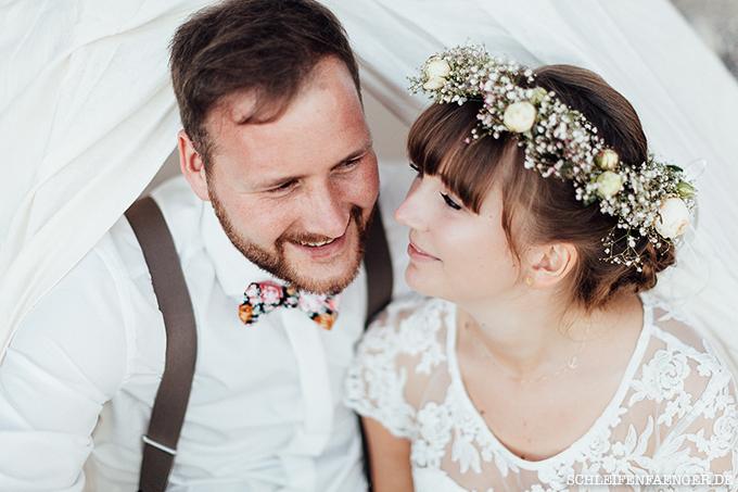 Brautkleid Vintage-Stil Fehmarn