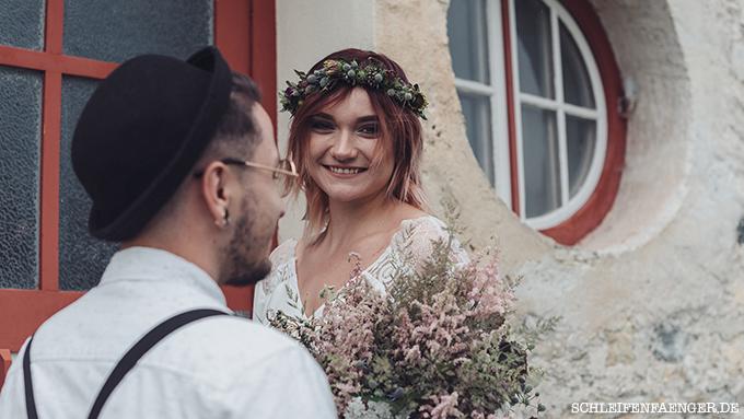 Spätsommerliche Brautkleid-Inspiration im zarten Boho-Look ...