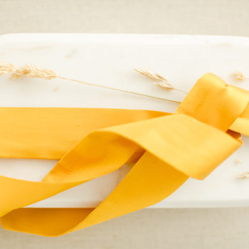 Braut-Gürtel aus Doupion-Seide