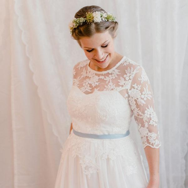 Braut-Gürtel aus Satin