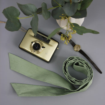 Taillenband Eukalyptusgrün