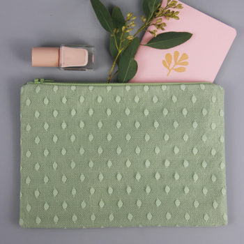 Tasche Pünktchen-Spitze grün