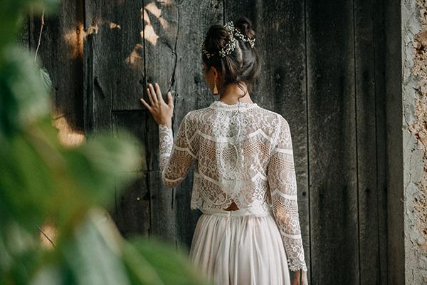 Braut-Top Erna und Tüllrock