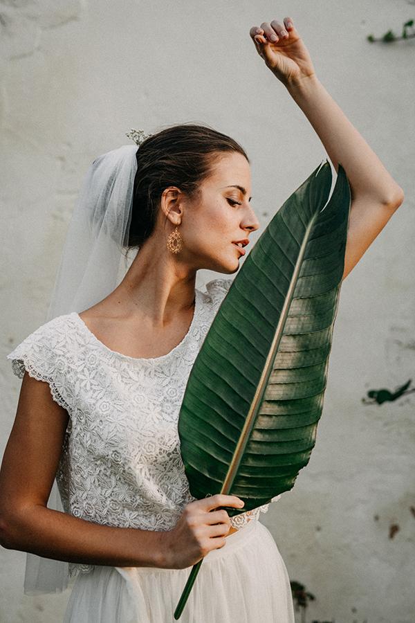 Braut-Top Sybil und Tüllrock Doro