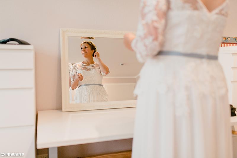 Schleifenfangerbraut Anja Feiert Eine Entspannte Vintage Hochzeit