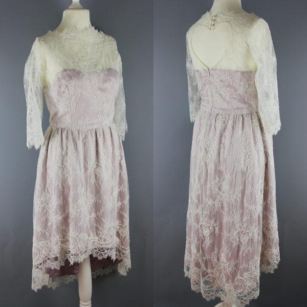 Kurzes Vintage-Brautkleid Anni