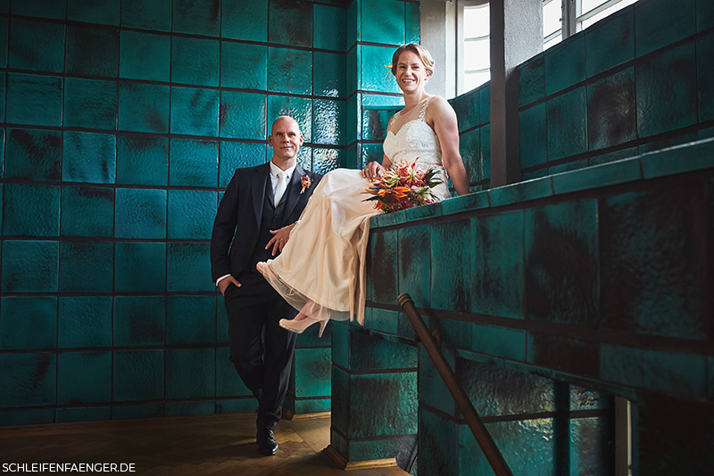 Hochzeit in der Konsumzentrale in Leipzig