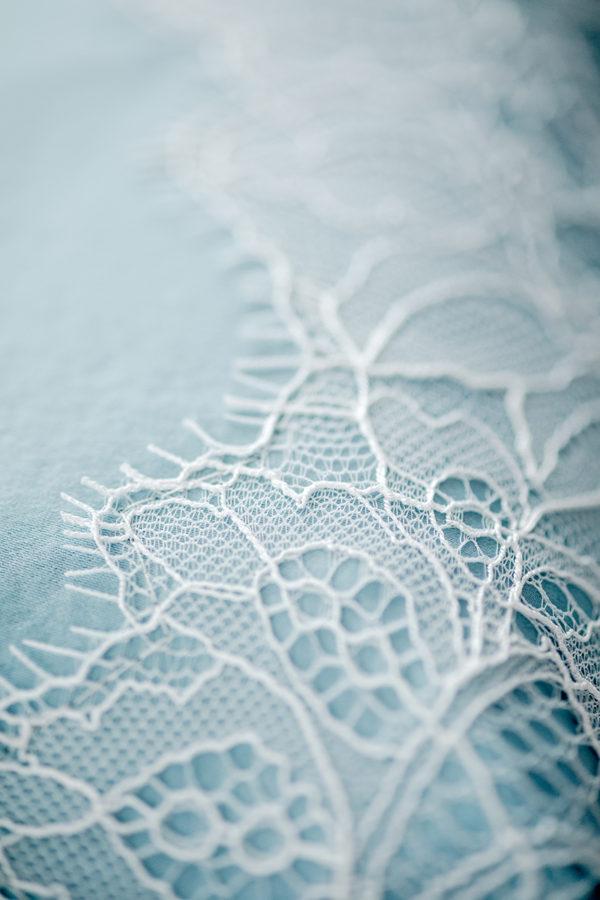 Vintage-Braut-Tasche mit zarter Spitze