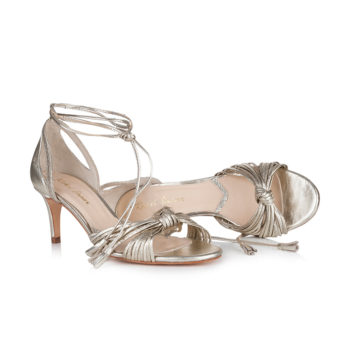 Riemchen-Pumps Maria in Gold