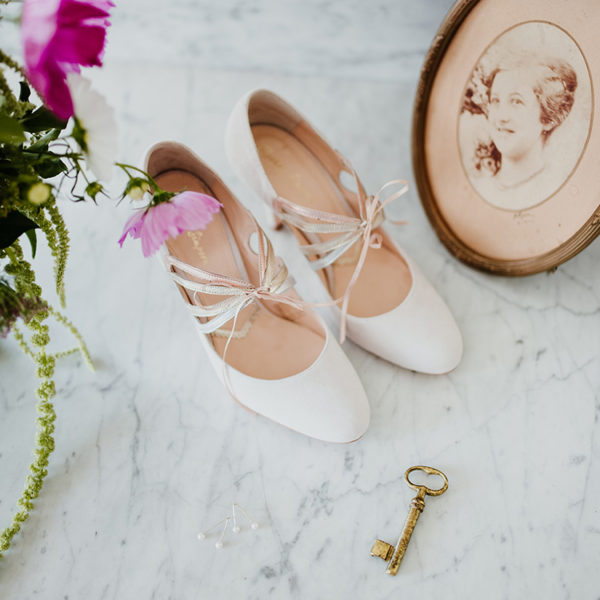 Braut-Schuhe Octavia in rosa