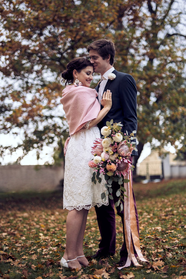 Vintage-Brautkleid