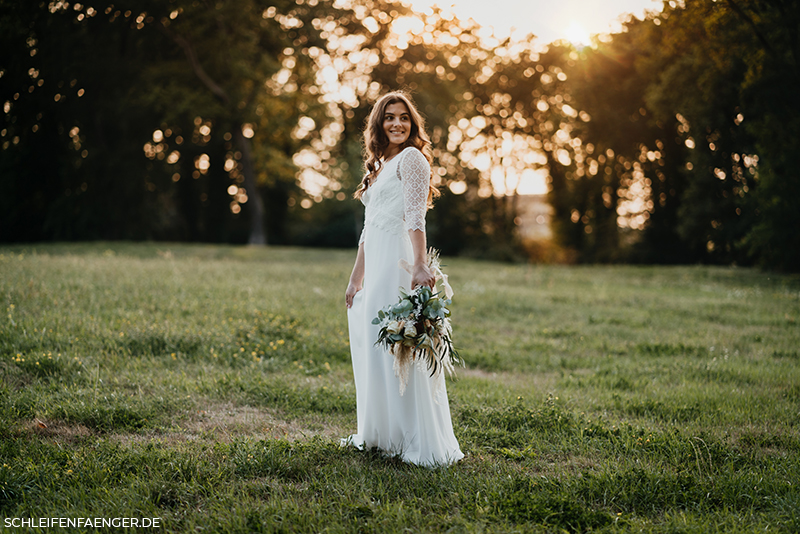 Boho-Hochzeitskleid Bella